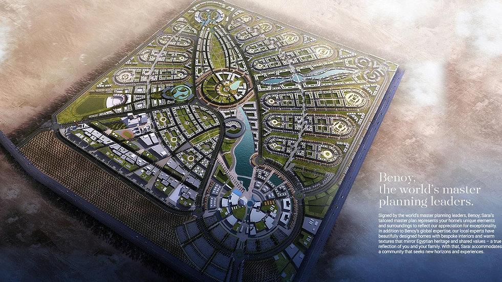 Sarai East Cairo Master Plan
