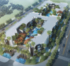 3D master plan for Glass by The Waterway