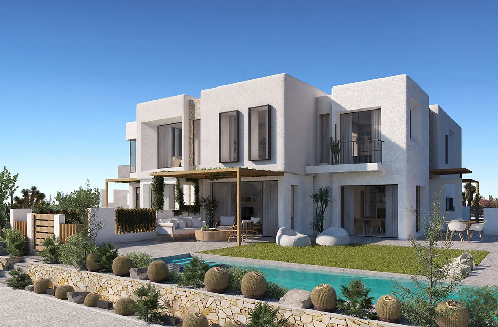 Twin Villa in El Masyaf North Coast