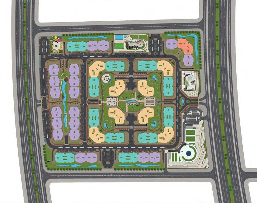 Master Plan for Golden Yard
