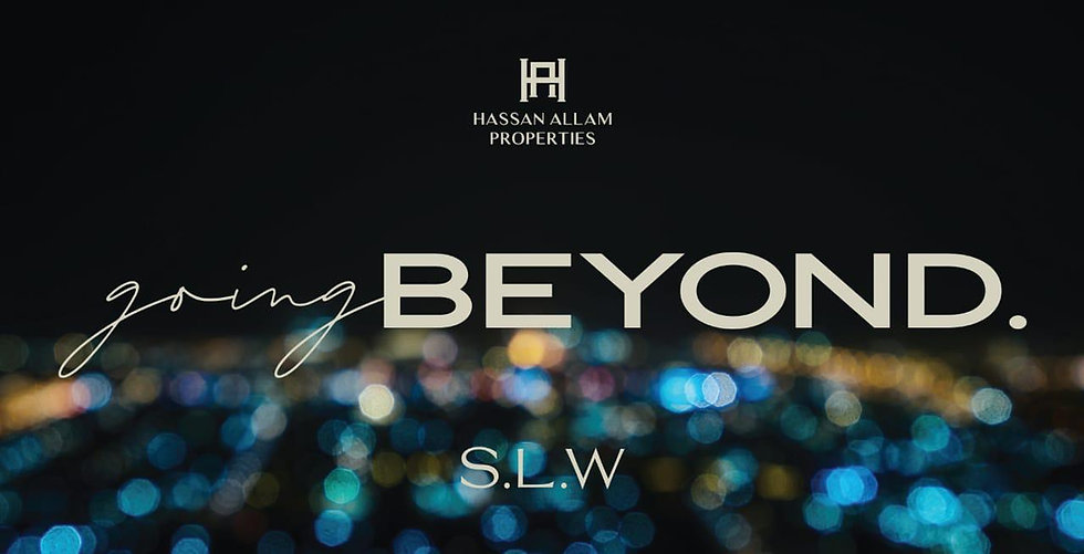 Hassan Allam Properties giving BEYOND S.L.W