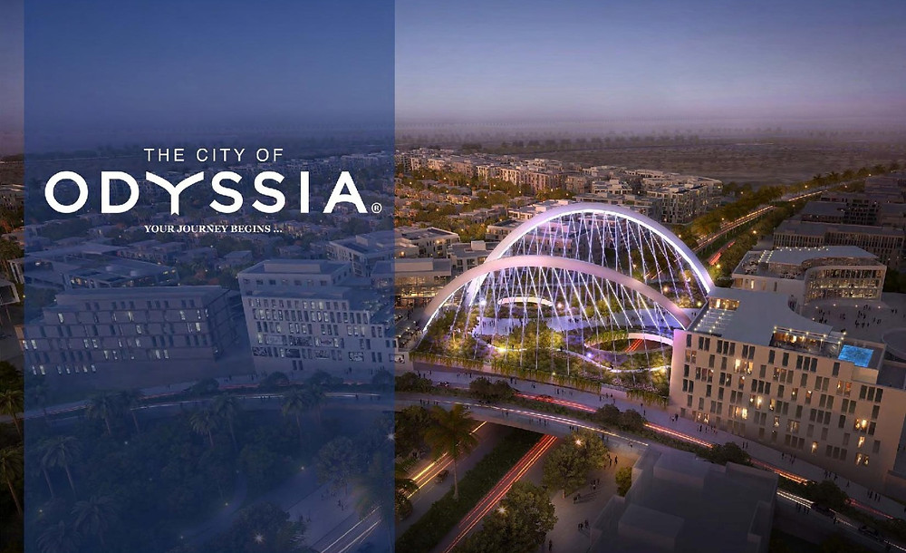 The City of Odyssia in Mostakbal City Egypt