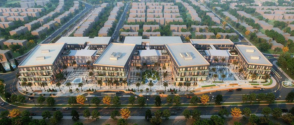 Golf Central Business Complex Palm Hills Developments