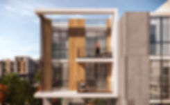 Architectural design of apartment buildings