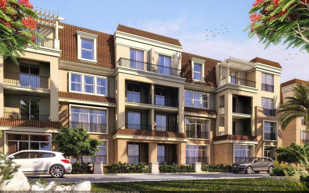 Sarai New Cairo apartment buildings