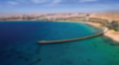 The beautiful view of Sahl Hasheesh Bay Red Sea