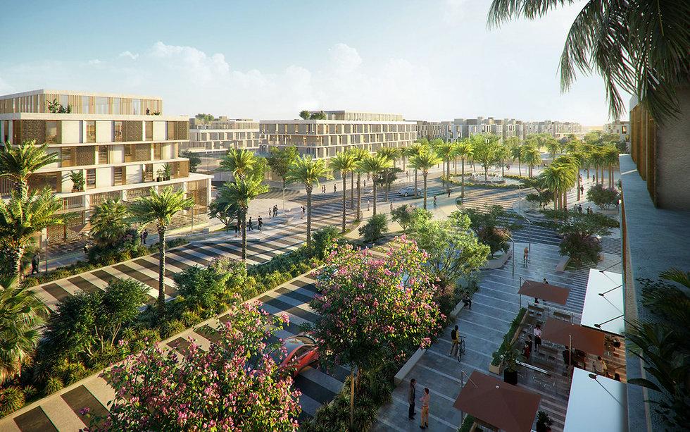 landscape design n VYE New Zayed