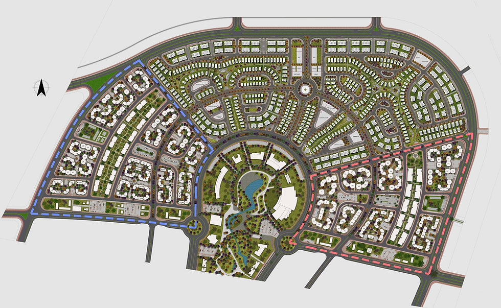 R3 Master Plan including Al Maqsad Residences