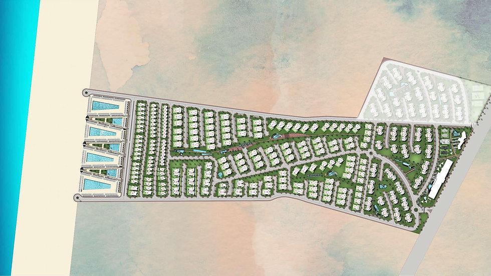 Haceinda West Master Plan by Palm Hills Developments