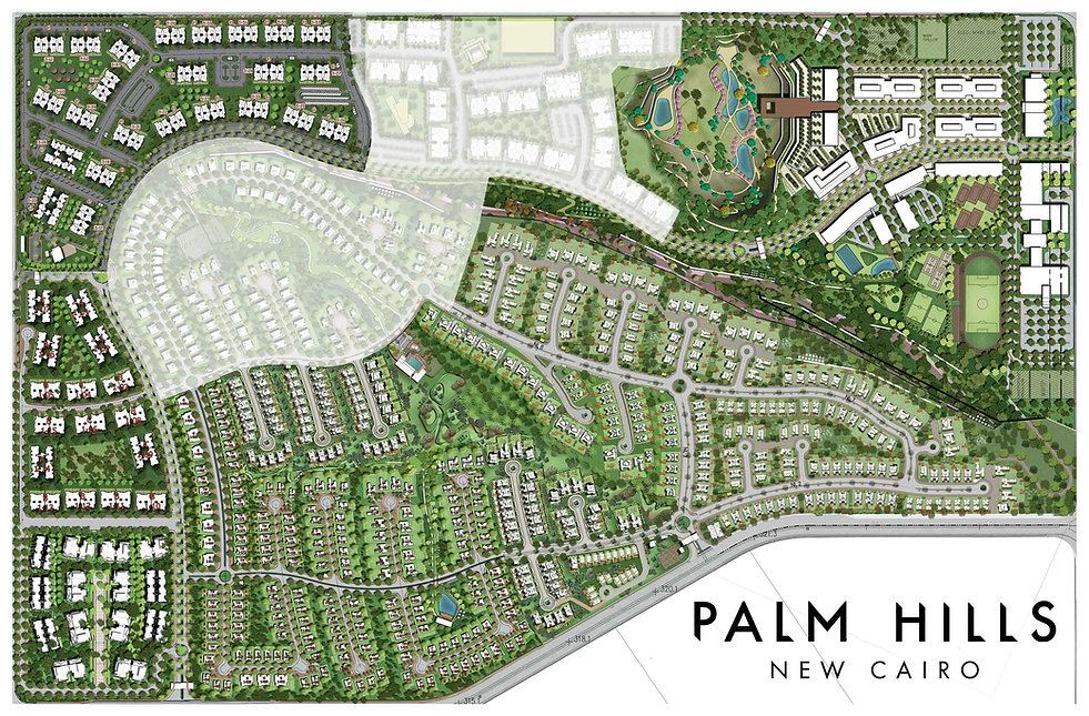 Master Plan for Palm Hills New Cairo