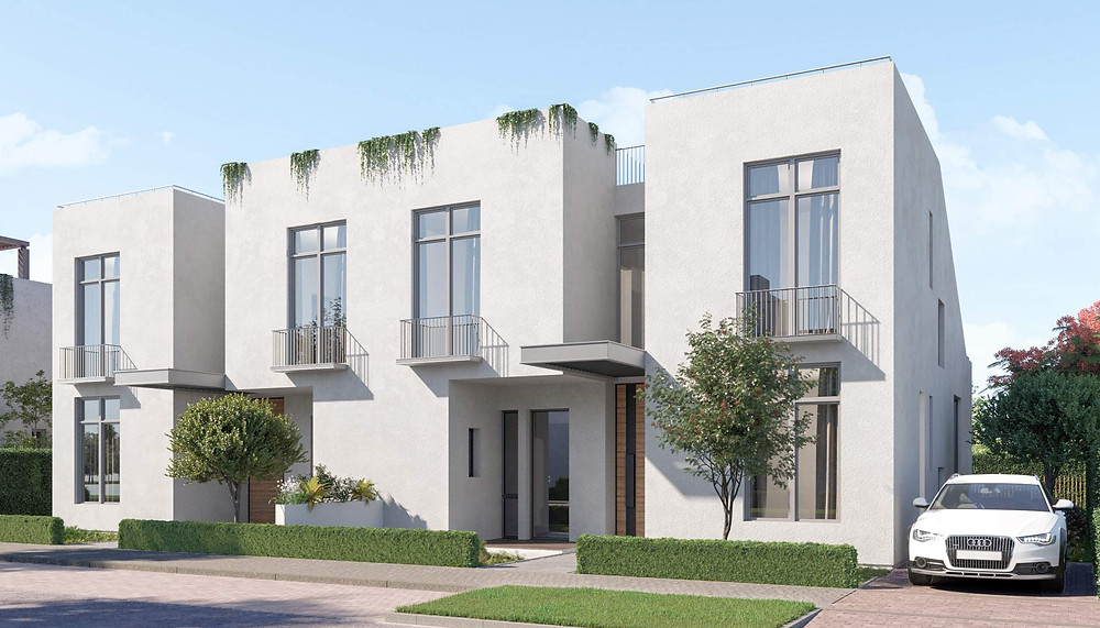 Design of town houses in O West