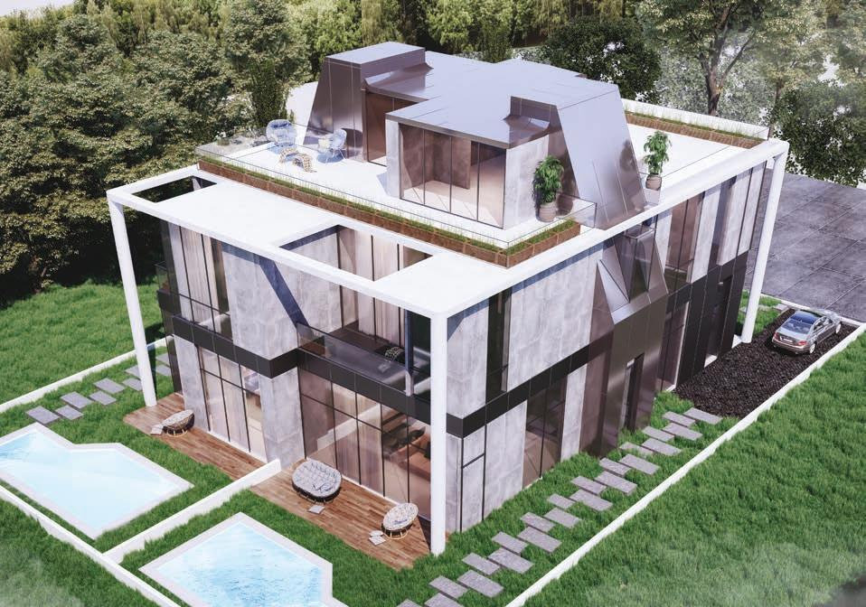 Twin Villas Design in Bloomfields