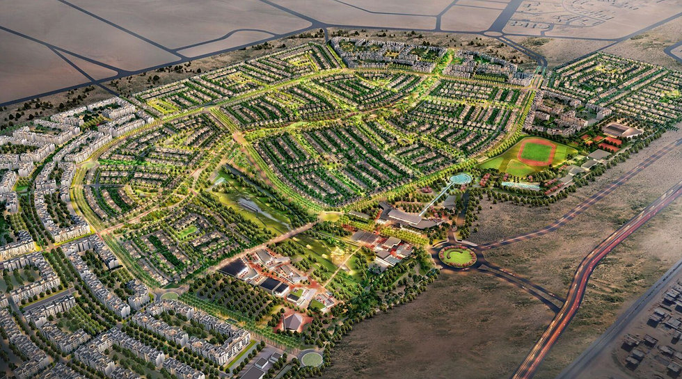 3D Master Plan for SODIC East New Heliopolis