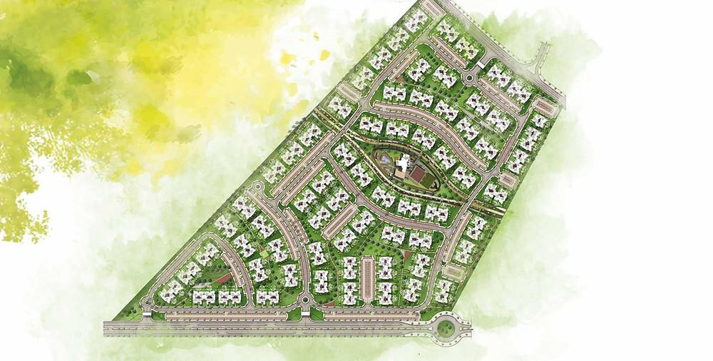 Master plan for Capital Gardens