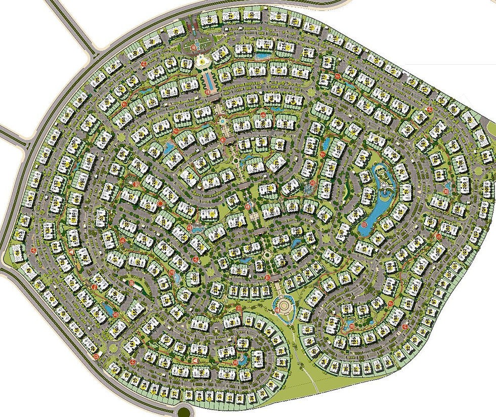 master plan for Mountain View Hyde Park
