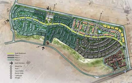 Master plan for Joulz Development in West Cairo by Inertia Egypt