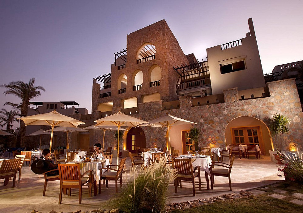 The restaurant in Azzurra Sahl Hasheesh
