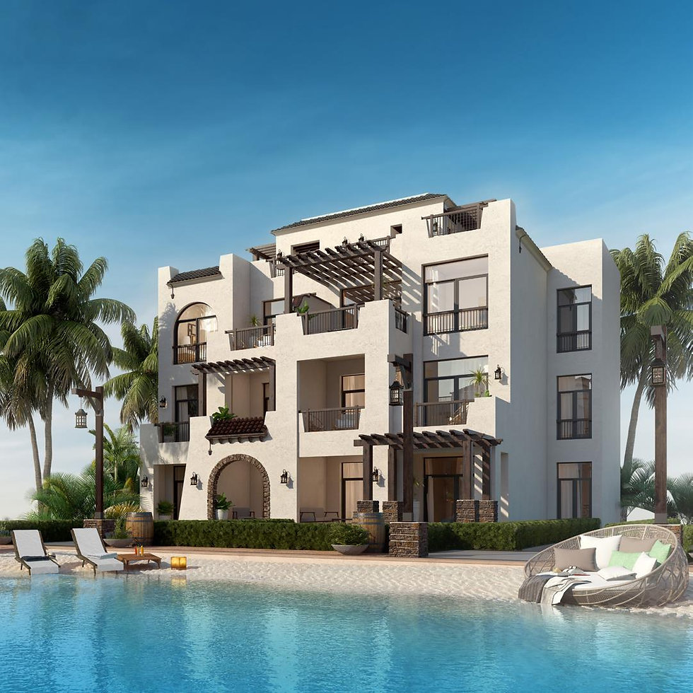 building architecture for K Sahl Hasheesh