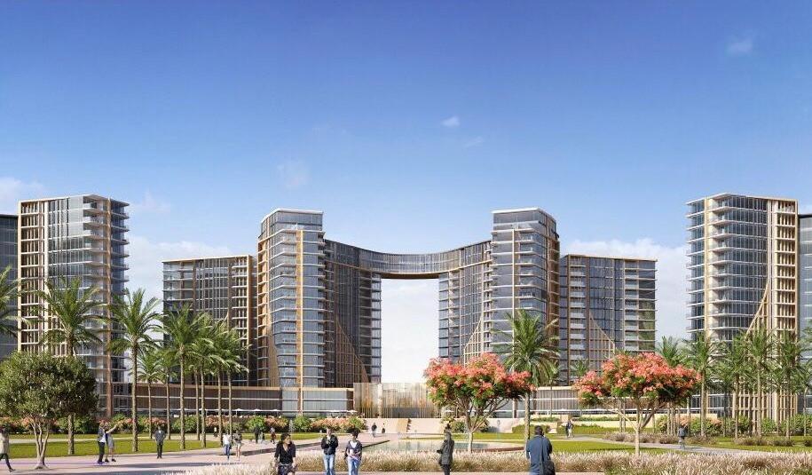 Y shaped towers in ZED El Sheikh Zayed