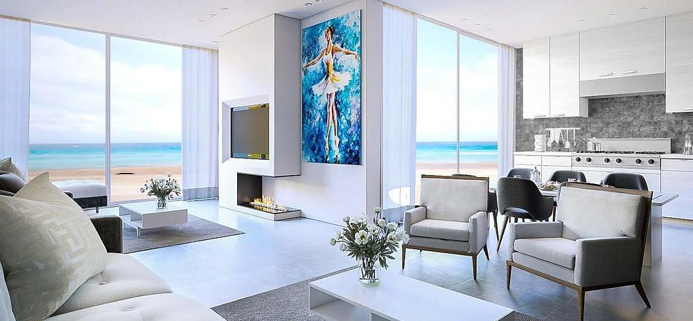Interior designs of studios in Matangi Oriental Coast