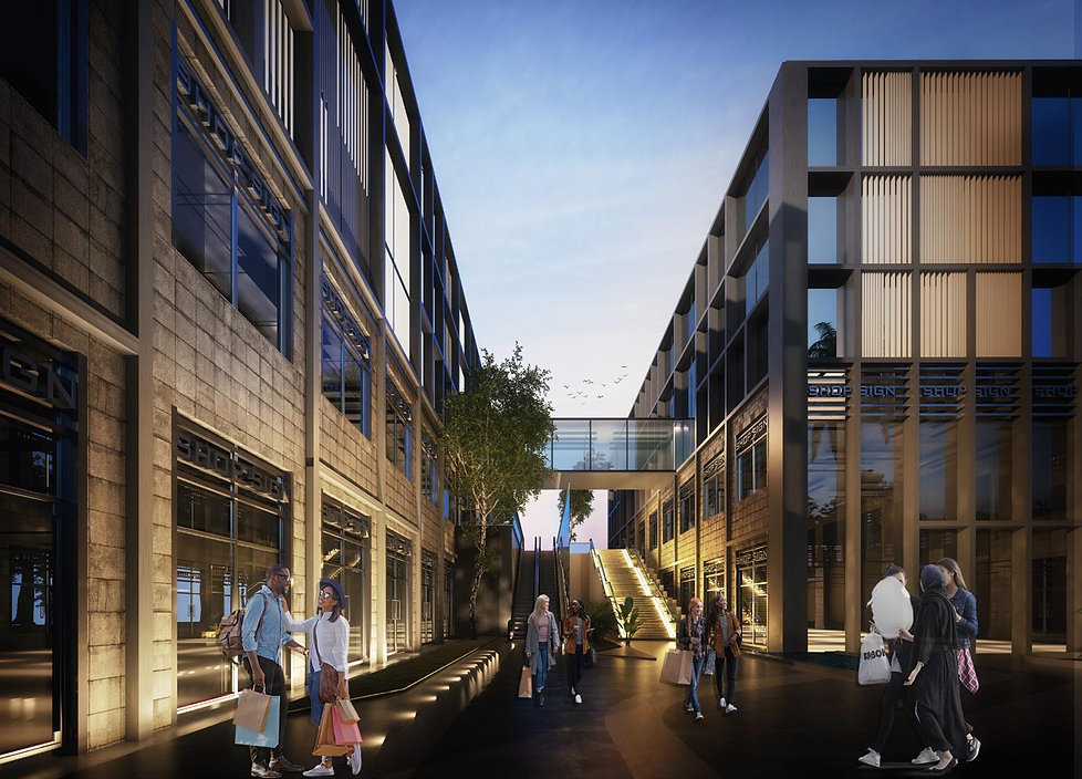 retail and dining at 5A Waterway