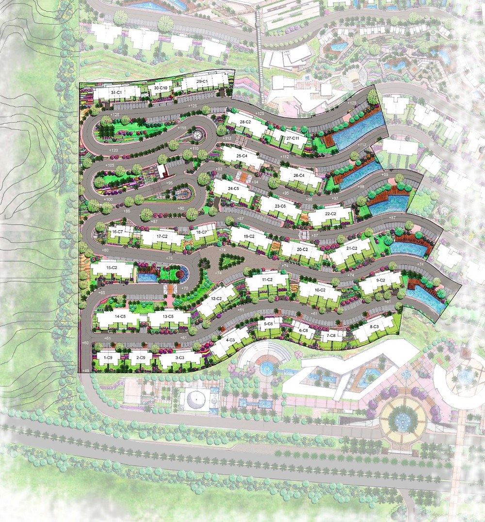 Phase one master plan for Baymount