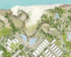 Cove beach master plan