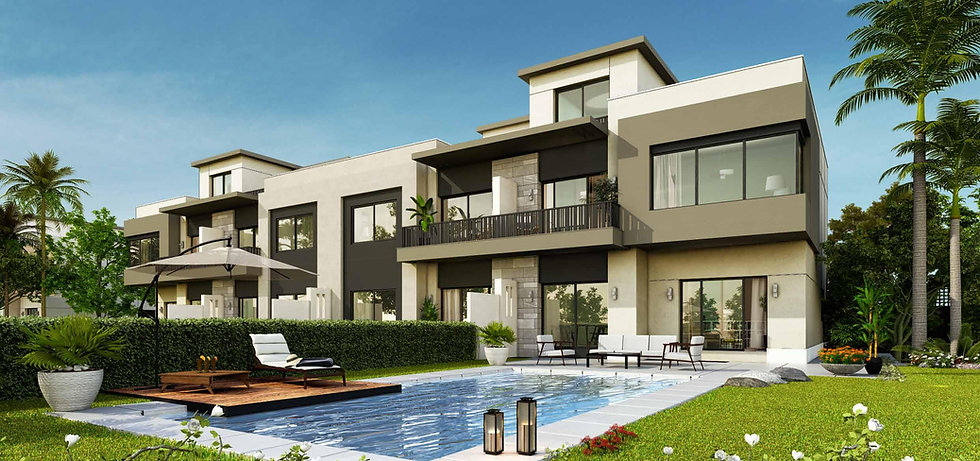Townhomes in The Giselle