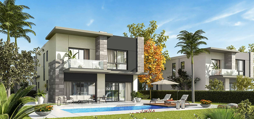 Render for Villa type H in The Giselle