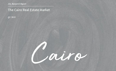 JLL Cairo Real Estate Market Q1 2019
