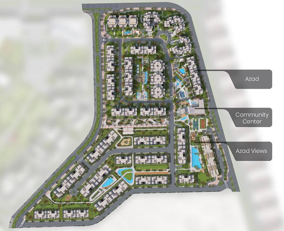 AZAD Views master plan