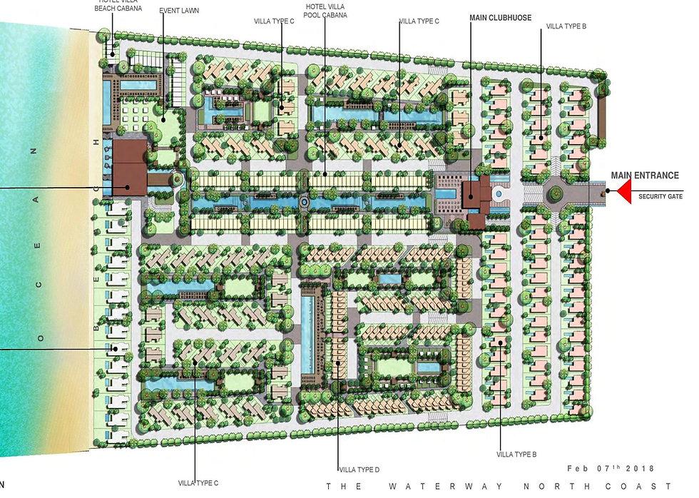 The Waterway North Coast master plan