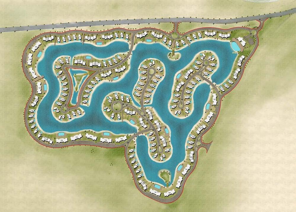 Master Plan for Tawila, El Gouna, Red Sea, Egypt