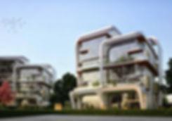 Atika New Capital exterior designs
