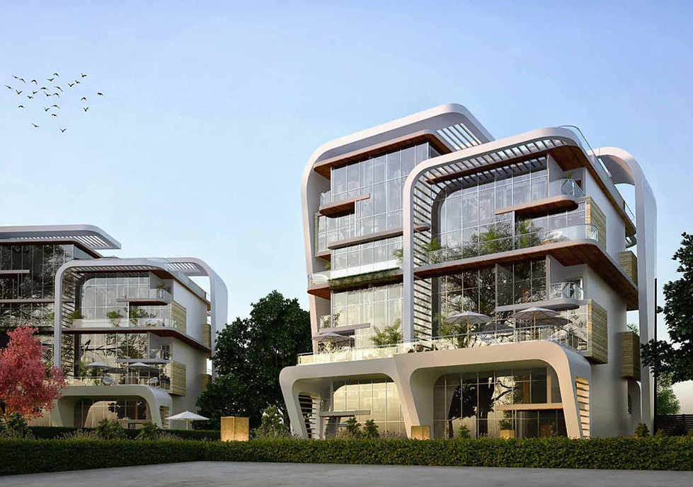 Atika New Capital exterior designs