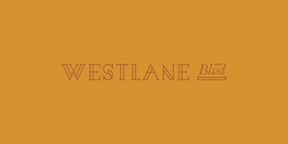 Westlane Blvd front cover