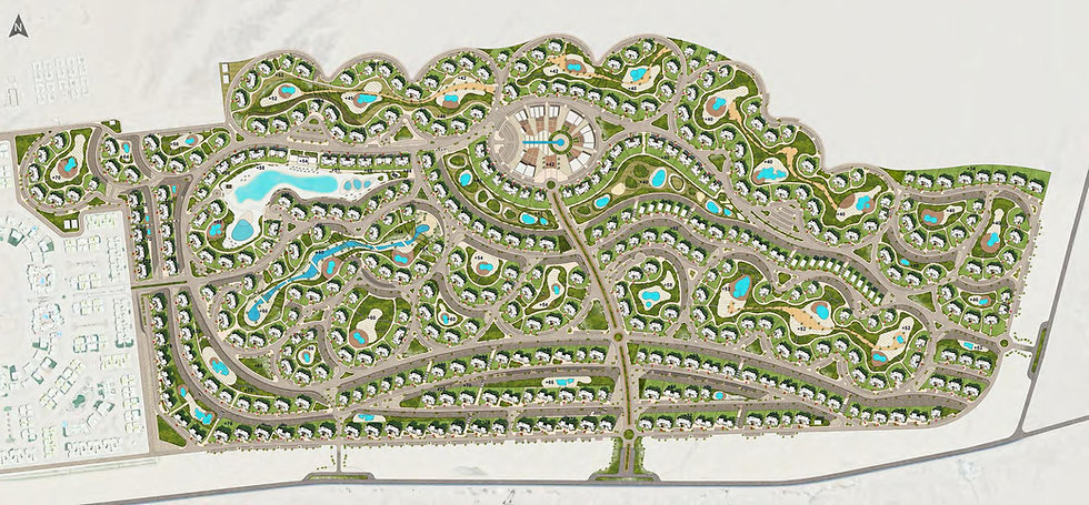master plan for Makadi Heights