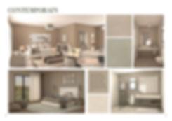 Contemporain finishing palette for V Residences