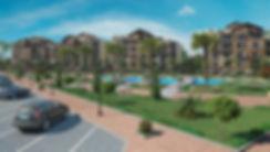 Evora New Cairo Landscape design