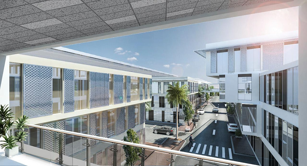 Golf Central Renders for Office Buildings