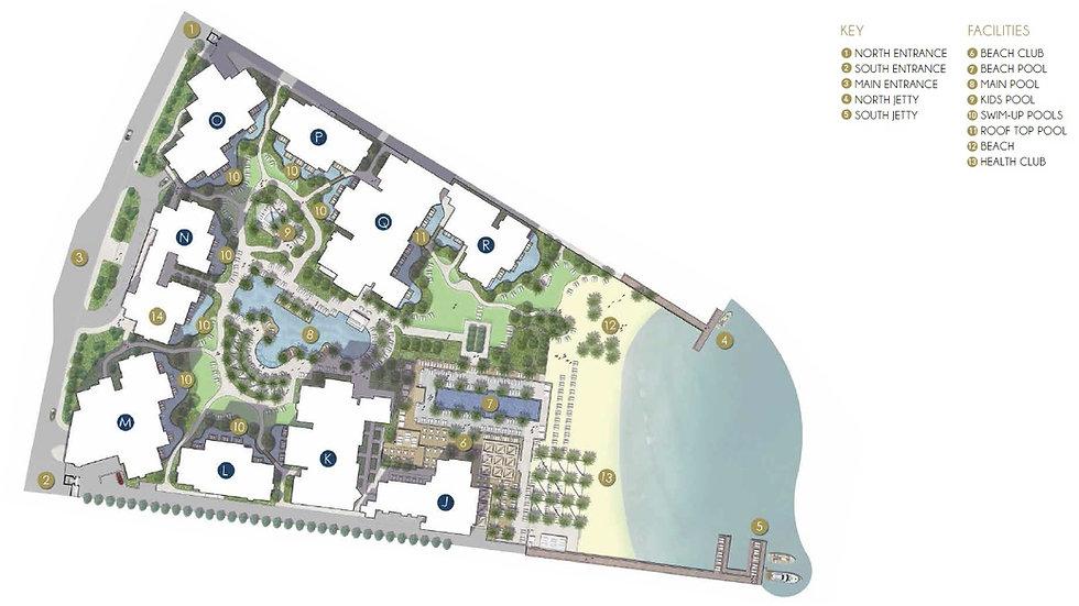 Al Dau Strand master plan