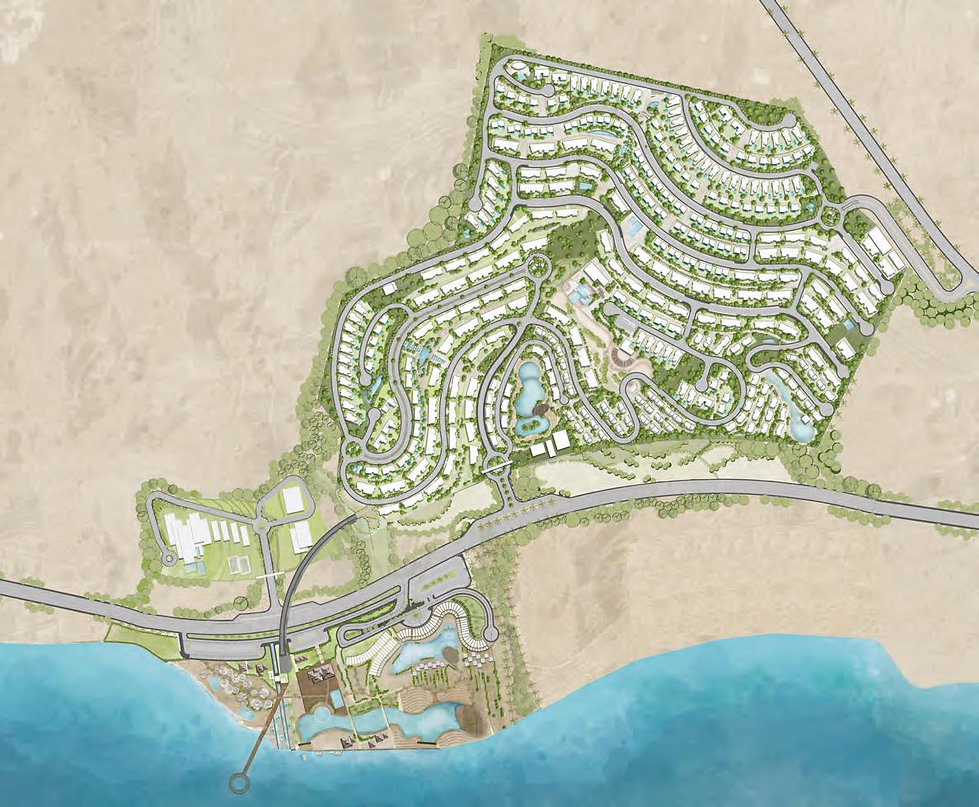 Master plan for Majada El Sokhna