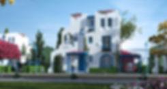 Boutique villa in Paros Mountain View