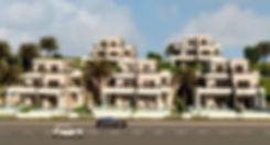 render of Amaros sea view villas