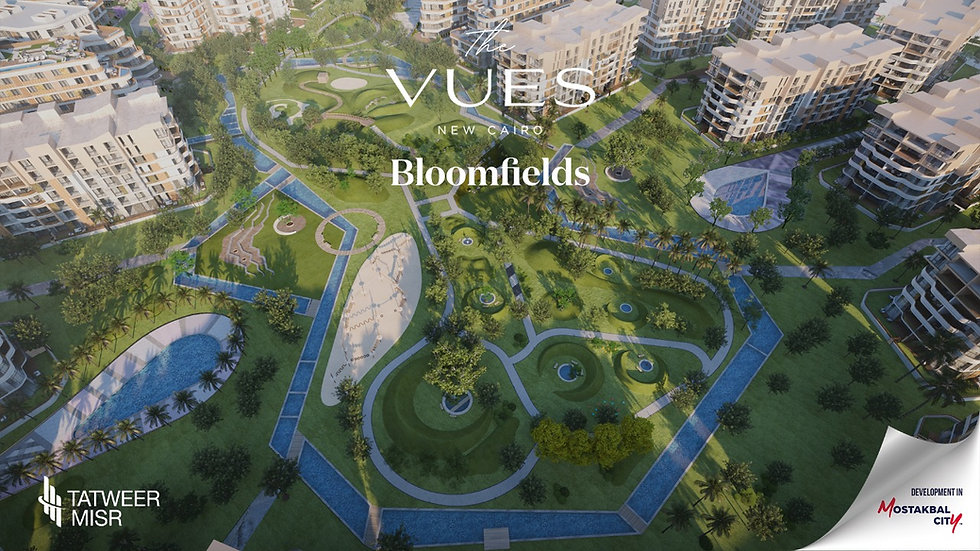 The Vues in Bloomfields landscape designs