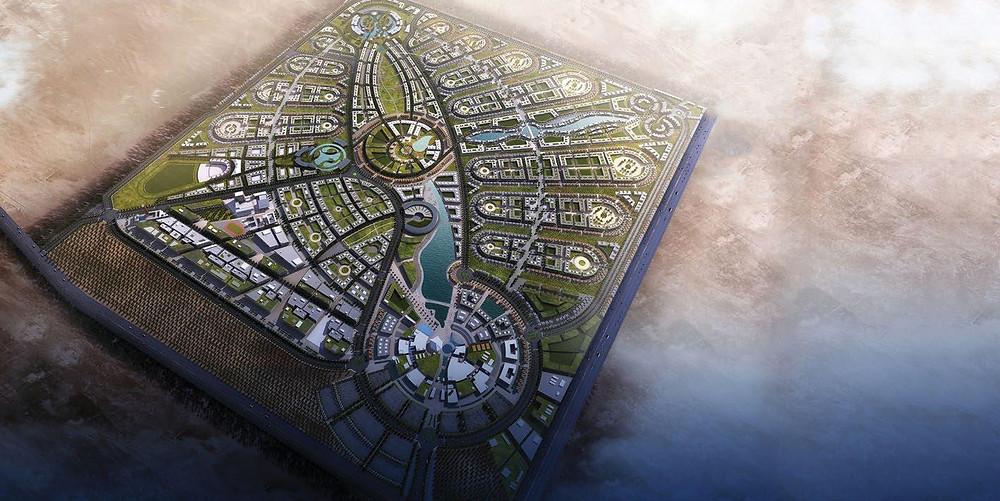 Master Plan of Sarai New Cairo