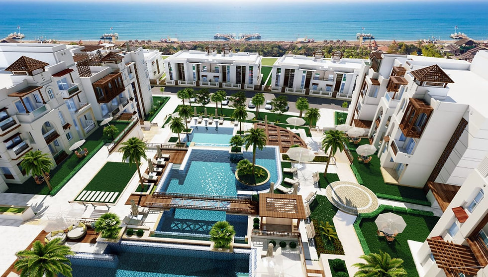 Alcamar Sahl Hasheesh Unobstructed Sea View
