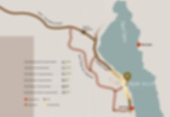 Location of Palm Hills Sokhna at Laguna Bay