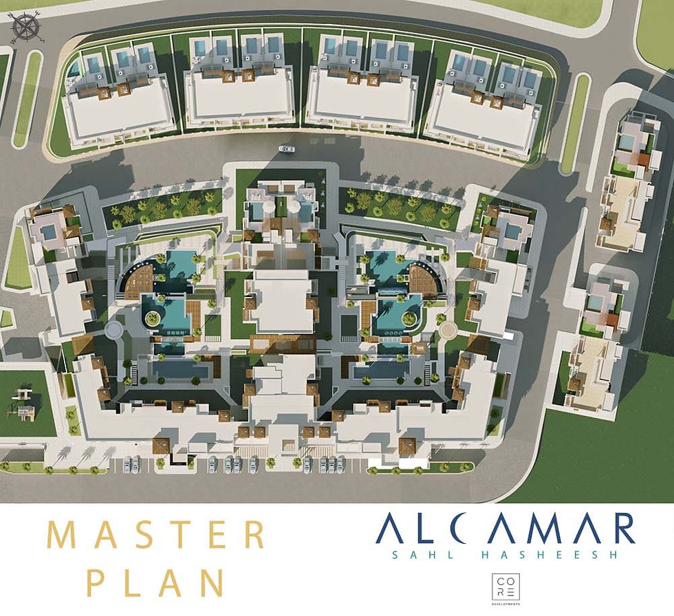 Alcamar Sahl Hasheesh Master Plan