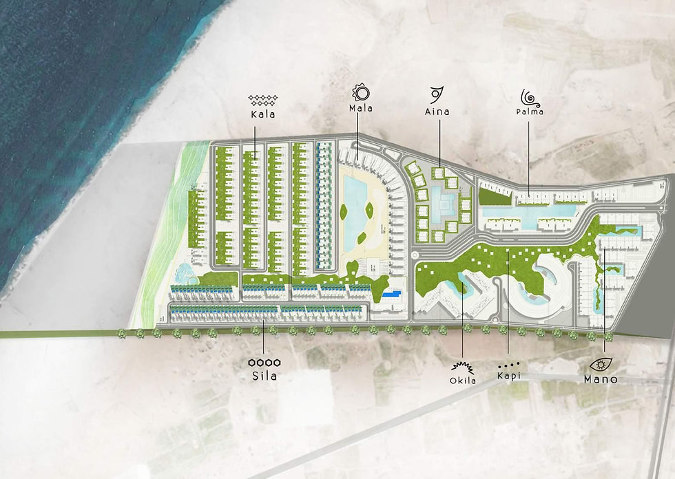 Master Plan for Pali North Coast
